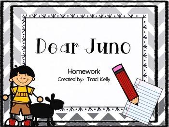 Dear Juno Homework - Scott Foresman 2nd Grade
