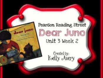 2nd Grade Reading Street Dear Juno 3.2