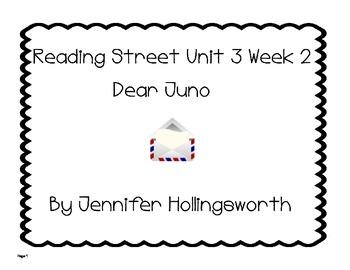 Dear Juno Reading Street Unit 3 Week 2