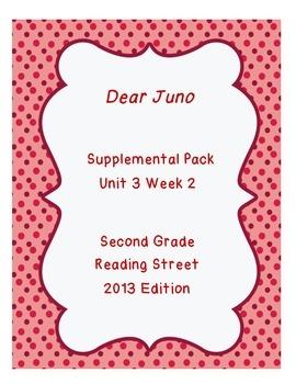 Dear Juno Reading Street Unit 3 Week 2 Resource Pack