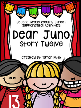 Dear Juno Supplemental Activities (Reading Street Lesson 12)