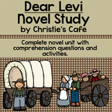 Dear Levi Novel Unit