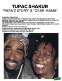 Dear Mama & Papa'z Song Tupac Close Reading (Distance Learning)