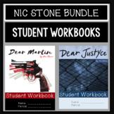 Dear Martin, Dear Justyce, Nic Stone:  Novel Workbook BUNDLE