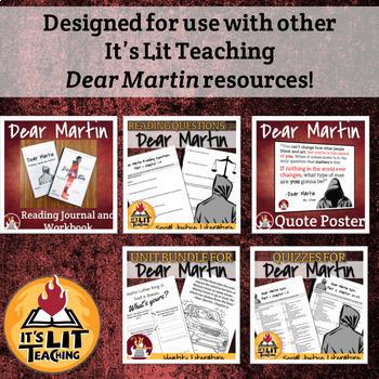 Dear Martin Introduction QR Code Activity