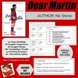 Dear Martin Novel Unit - Author Nic Stone