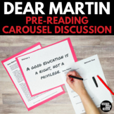 Dear Martin Pre-Reading Carousel Discussion