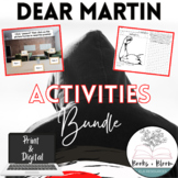Dear Martin Social Justice Unit: Engaging Activities Bundle - Distance Learning