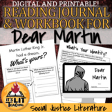 Dear Martin Reading Journal and Workbook (Distance Learning)