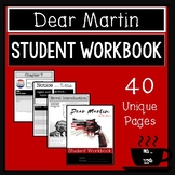 Dear Martin:  Student Workbook, Novel Guide