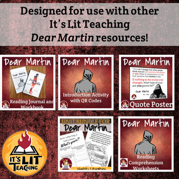 Dear Martin by Nic Stone Reading Quizzes