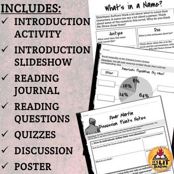 Dear Martin by Nic Stone Unit Bundle
