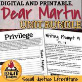 Dear Martin by Nic Stone Unit Bundle (Distance Learning)