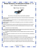 """Dear Mr. Blueberry"": Common Core Research; 2nd Grade"