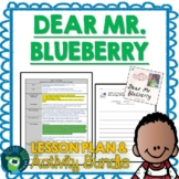 Dear Greenpeace / Dear Mr. Blueberry by Simon James Lesson Plan and Activities
