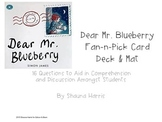 Dear Mr. Blueberry Fan & Pick Cards (Trophies 2nd grade)