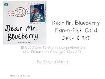 Dear Mr. Blueberry Fan & Pick Cards (Trophies 2nd grade)