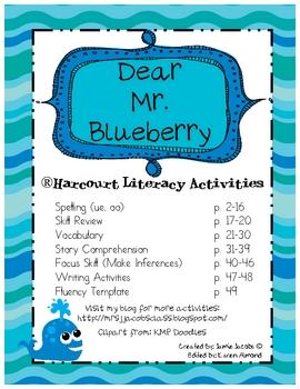 Dear Mr. Blueberry (Harcourt Unit)