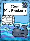 Dear Mr. Blueberry Writing Activity