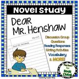 Dear Mr. Henshaw Novel Study