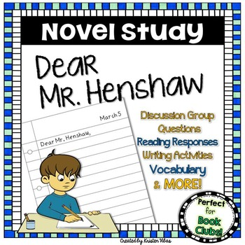 Dear Mr. Henshaw Novel Study
