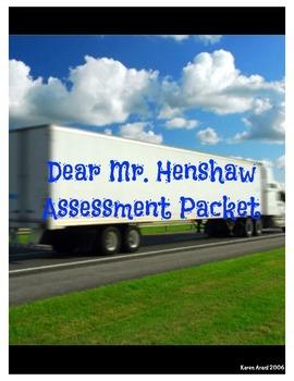 Dear Mr. Henshaw Assessment Packet