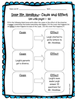 Dear Mr. Henshaw Complete Novel Study