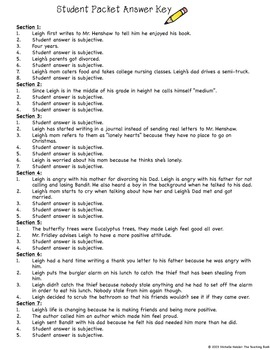 Worksheets Dear Mr Henshaw Worksheets dear mr henshaw comprehens by the teaching bank teachers pay comprehension packet