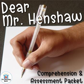 Dear Mr. Henshaw Comprehension and Assessment Bundle