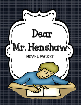 Dear Mr Henshaw - Comprehension and Vocabulary