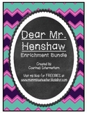 Dear Mr. Henshaw Enrichment - Response Journal, Projects/Activities