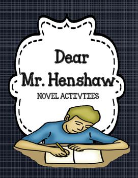 Dear Mr. Henshaw - Novel Activities Unit