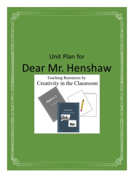 Dear Mr. Henshaw Novel Unit Plus Grammar