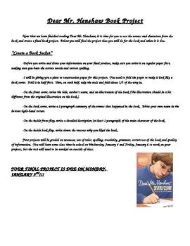 Dear Mr. Henshaw Pack