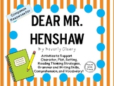 Dear Mr. Henshaw by Beverly Cleary: A Complete Novel Study!