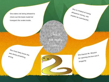 Dear Mr. Winston & Field Guide to Snakes of the Southwest,  Grade 4