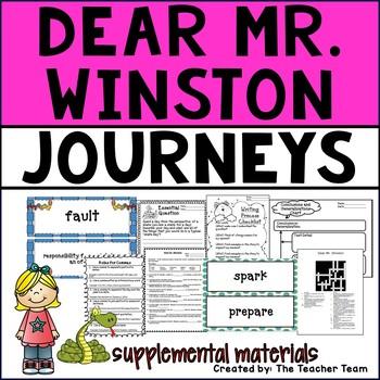 Dear Mr Winston Journeys 4th Grade Unit 2 Lesson 9 Printables
