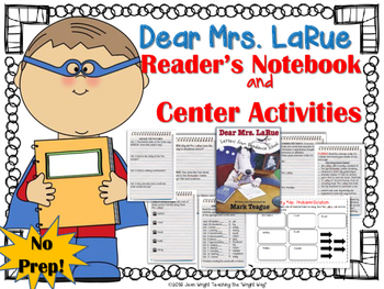 Dear Mrs. LaRue {Book Study and Center Activities}