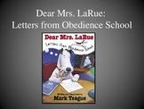 Dear Mrs. LaRue: Letters from Obedience School, Text Talk Collaborative Convo