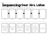 Dear Mrs. LaRue - Sequencing Worksheet