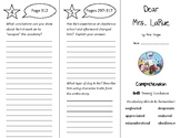 Dear Mrs. LaRue Trifold - Treasures 4th Grade Unit 3 Week 2 (2011)