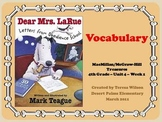 Dear Mrs. LaRue - Vocabulary