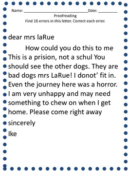 Dear Mrs. LaRue Vocabulary, Spelling & Drawing Conclusion Activities