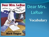 Dear Mrs. Larue Letters from Obedience School Vocabulary PowerPoint