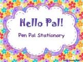 Dear Pen Pal Letter Writing Freebie