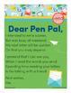Dear Pen Pal - end Word Family Poem of the Week