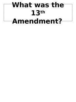 Dear President Lincoln Alternative Assessment