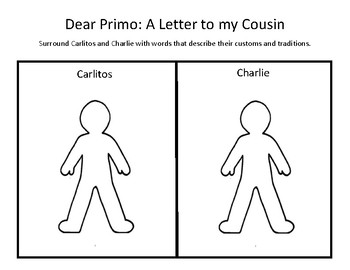Dear Primo: A Letter to my Cousin WONDER SERIES Second Grade
