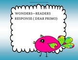 Dear Primo - 2nd Grade -  Tri Folds + Activities