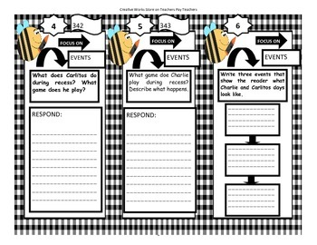 Dear Primo - 2nd Grade -  Tri Folds + Activities